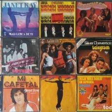 Discos de vinilo: LOTE VINILOS EPS MUSICA DANCE. Lote 210473566