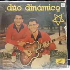 Discos de vinilo: ** DÚO DINÁMICO - RECORDÁNDOTE / ALONE / COW BOY / LITTLE DARLING - EP AÑO 1959 - LEER DESCRIPCIÓN. Lote 210474240