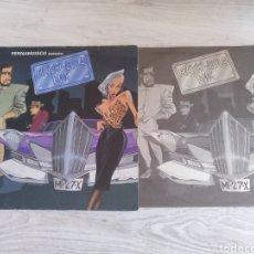 Discos de vinilo: MATRI-CULA MIX LP FERNANDISCO 1986 VINILO AMARILLO. Lote 210474726