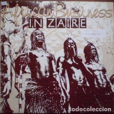 Discos de vinilo: AFRICAN BUSINESS – IN ZAIRE - MAXI-SINGLE ITALY 1990. Lote 210474903
