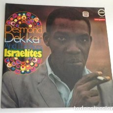 Discos de vinilo: DESMOND DEKKER AND THE ACES ISRAELITES DISCO VINILO LP AÑOS 70 MÚSICA REGGAE SKA CANTANTE DE JAMAICA. Lote 210475177