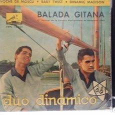 Discos de vinilo: ** DÚO DINÁMICO - BALADA GITANA / NOCHE DE MOSCU / BABY TWIST + 1 - EP AÑO 1962 - LEER DESCRIPCIÓN. Lote 210475773
