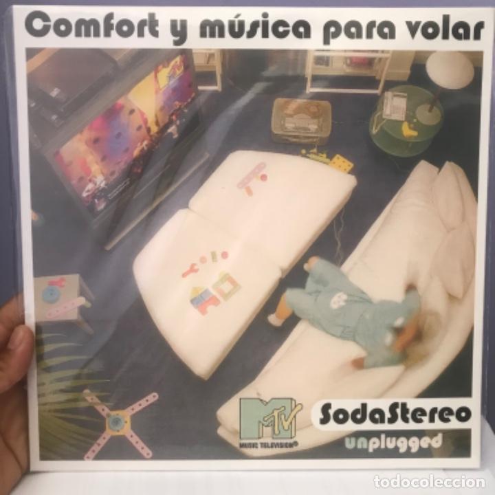 SODA STEREO COMFORT Y MÚSICA PARA VOLAR PRECINTADO (Música - Discos - LP Vinilo - Pop - Rock Extranjero de los 90 a la actualidad)