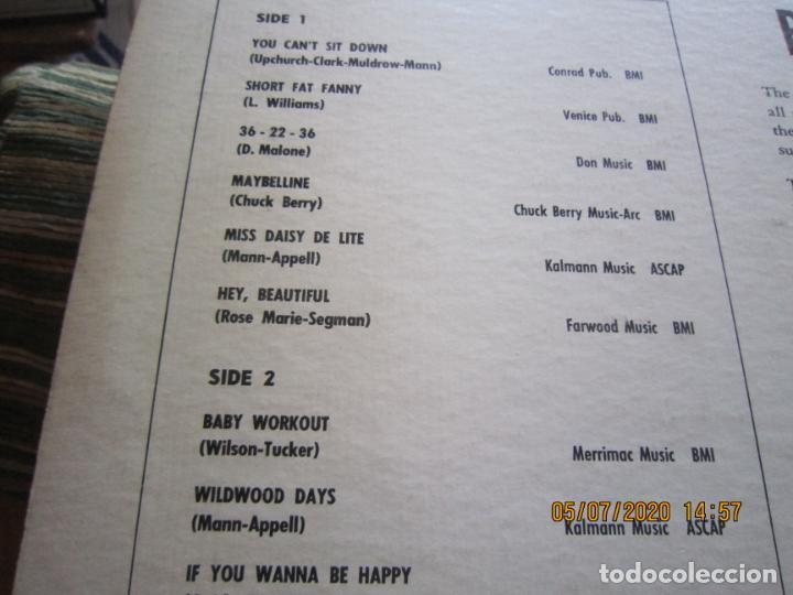 Discos de vinilo: THE DOVELLS - YOU CAN´T SIT DOWN LP - ORIGINAL U.S.A - PARKWAY RECORDS 1962 CON FUNDA INT. ORIGINAL - Foto 5 - 210476886