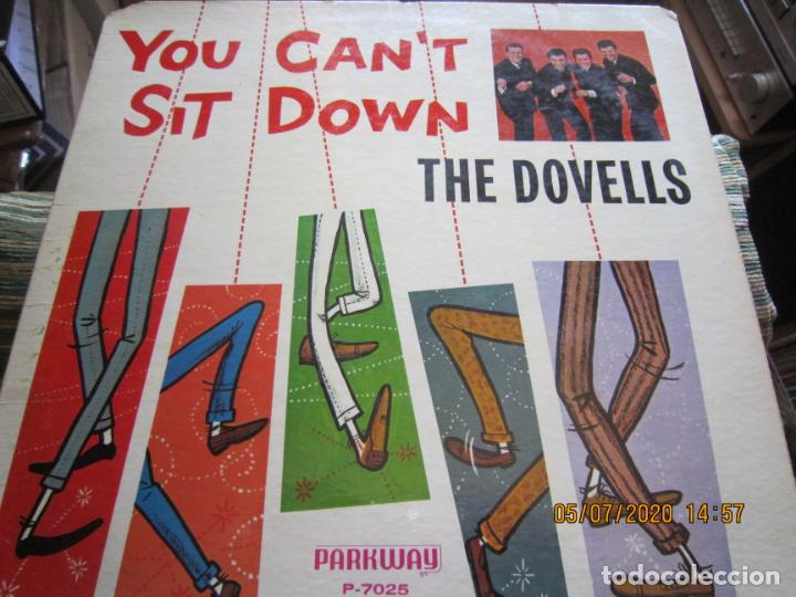 Discos de vinilo: THE DOVELLS - YOU CAN´T SIT DOWN LP - ORIGINAL U.S.A - PARKWAY RECORDS 1962 CON FUNDA INT. ORIGINAL - Foto 12 - 210476886