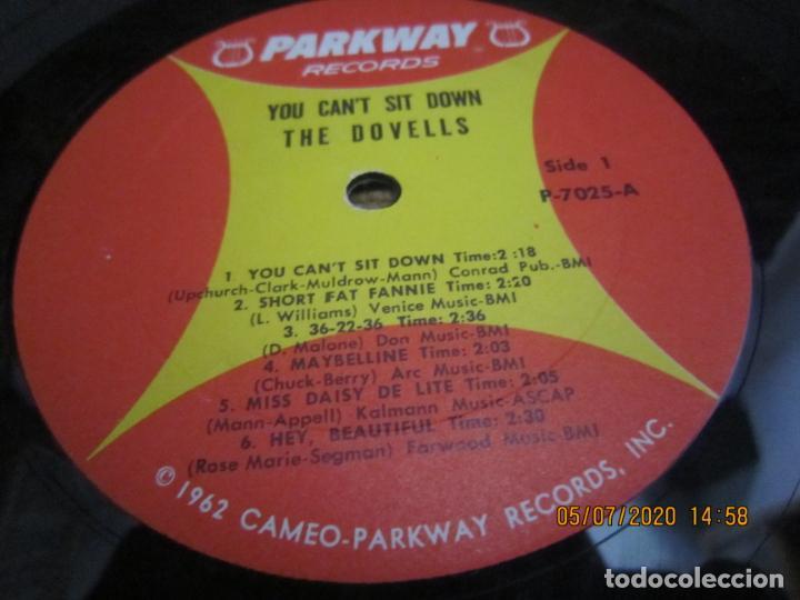 Discos de vinilo: THE DOVELLS - YOU CAN´T SIT DOWN LP - ORIGINAL U.S.A - PARKWAY RECORDS 1962 CON FUNDA INT. ORIGINAL - Foto 15 - 210476886