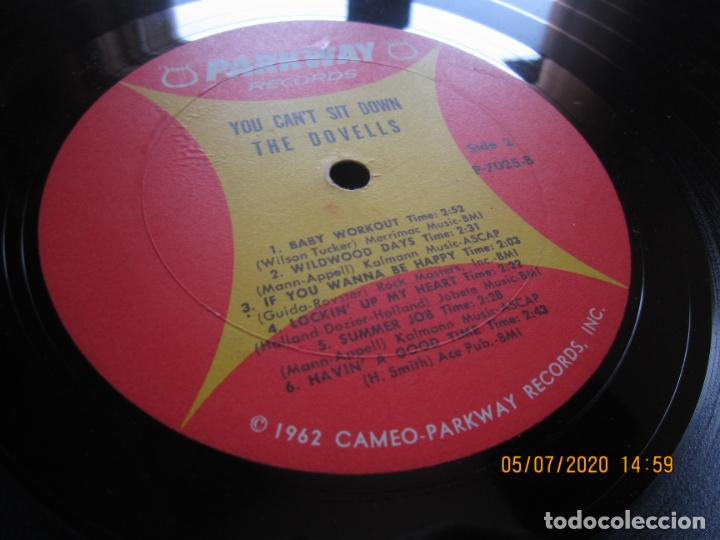 Discos de vinilo: THE DOVELLS - YOU CAN´T SIT DOWN LP - ORIGINAL U.S.A - PARKWAY RECORDS 1962 CON FUNDA INT. ORIGINAL - Foto 18 - 210476886