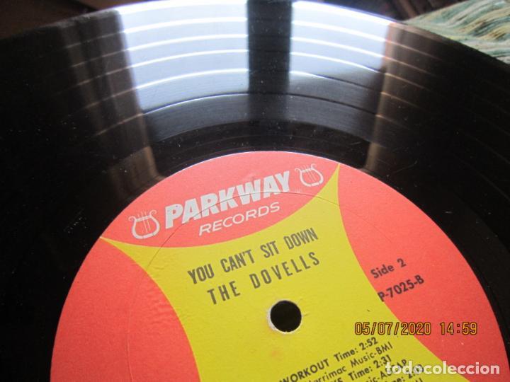 Discos de vinilo: THE DOVELLS - YOU CAN´T SIT DOWN LP - ORIGINAL U.S.A - PARKWAY RECORDS 1962 CON FUNDA INT. ORIGINAL - Foto 19 - 210476886