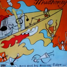 Discos de vinilo: MUDHONEY ORIGINAL LP 1991 SUB-POP. Lote 210477005