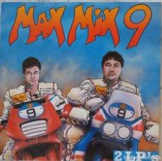 Discos de vinilo: MAX MIX 9. BLACK BOX.WESTBAM.TEN LOUIS.... LP + MAXISINGLE CON FUNDA INTERIOR LP CREDITOS. Lote 210478742