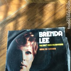 Discos de vinilo: BRENDA LEE. Lote 210480146