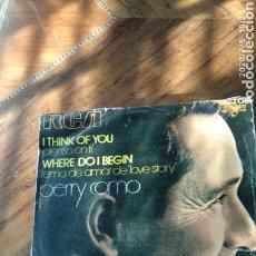 Discos de vinilo: PERRY COMO. Lote 210480667