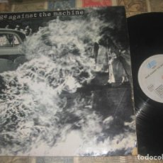 Discos de vinilo: RAGE AGAINST THE MACHINE RAGE AGAINST .(SONIC MUSIC1992) OG HOLLANDA LEA DESCRIPCION MOON DOG. Lote 210488387