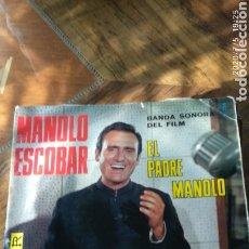 Discos de vinilo: MANOLO ESCOBAR,EL PADRE MANOLO. Lote 210490467