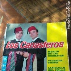 Discos de vinilo: LOS CANASTEROS. Lote 210490587