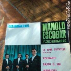 Discos de vinilo: MANOLO ESCOBAR Y SUS GUITARRAS. Lote 210490716