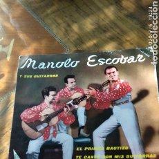 Discos de vinilo: MANOLO ESCOBAR. Lote 210490842