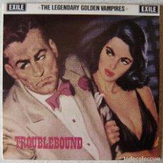 "Discos de vinilo: THE LEGENDARY GOLDEN VAMPIRES.TROUBLEBOUND...10""..EX..MUY RARO. Lote 210491337"