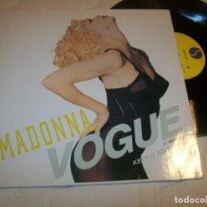 Discos de vinilo: MADONNA - VOGUE - MAXISINGLE DE - SIRE RECORDS - 1989 GERMANY. Lote 210519271