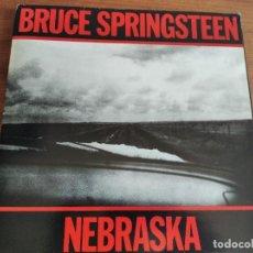 Discos de vinilo: BRUCE SPRINGSTEEN - NEBRASKA ***** PRIMERA EDICIÓN ESPAÑOLA 1982 PORTADA DOBLE. Lote 210524081