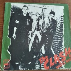 Discos de vinilo: THE CLASH - WHITE RIOT ***** MEGA RARO SINGLE ESPAÑOL 1977. Lote 210524595
