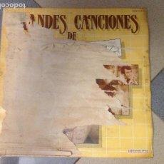Discos de vinilo: DISCO VINILO. GRANDES CANCIONES DE ALBERTO CORTEZ. ACM. Lote 210526137