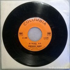Discos de vinilo: FREDDIE HART. STAND UP/ UGLY DUCKLING. COLUMBIA, USA 1962 SINGLE. Lote 210526550