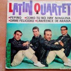 Discos de vinilo: LATIN QUARTET- PEPINO+3- EP BELTER 1963. Lote 210527771