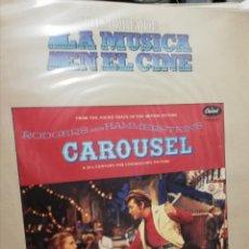 Discos de vinilo: HISTORIA DE LA MÚSICA DEL CINE. Lote 210534651