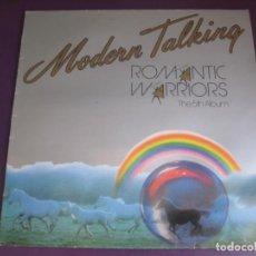 Discos de vinilo: MODERN TALKING – ROMANTIC WARRIORS - THE 5TH ALBUM LP ARIOLA 1987 - DISCO POP 80'S FANS - POCO USO. Lote 210538138