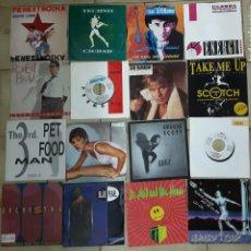 Discos de vinilo: LOTE DE 30 SINGLES ITALO DISCO. Lote 207169817