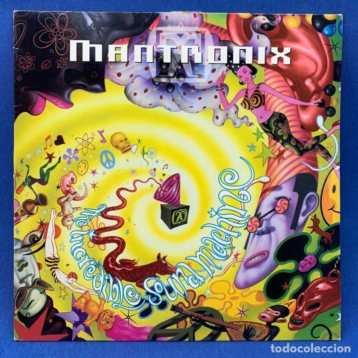 LP MANTRONIX - THE INCREDIBLE SOUND MACHINE - ESAÑA - AÑO 1991 (Música - Discos - LP Vinilo - Disco y Dance)