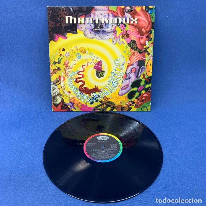 Discos de vinilo: LP MANTRONIX - THE INCREDIBLE SOUND MACHINE - ESAÑA - AÑO 1991 - Foto 2 - 210545831