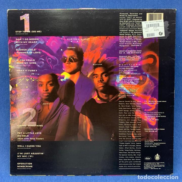 Discos de vinilo: LP MANTRONIX - THE INCREDIBLE SOUND MACHINE - ESAÑA - AÑO 1991 - Foto 3 - 210545831