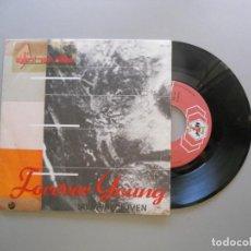 Discos de vinilo: ALPHAVILLE – FOREVER YOUNG = SIEMPRE JOVEN - SINGLE 1985 VG++/VG++. Lote 210547493