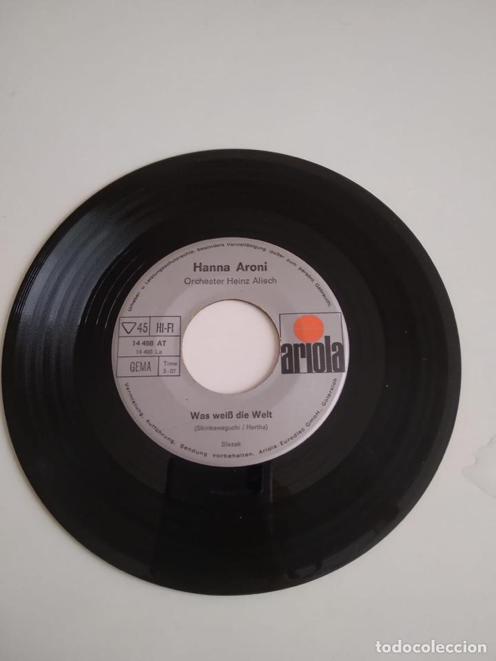 BAL-3 DISCO CHICO 7 PULGADAS SIN CARÁTULA ARIOLA HANNS ARONI OCHESTER HEINZ ALISCH (Música - Discos - Singles Vinilo - Otros estilos)