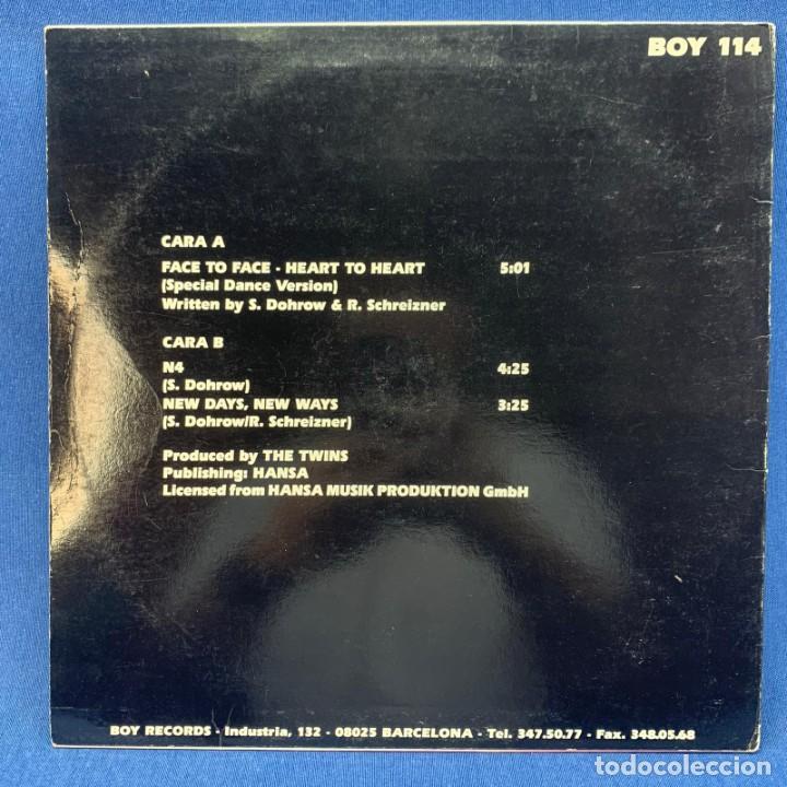 Discos de vinilo: LP THE TWINS - FACE TO FACE - HEART TO HEART - ESPAÑA - AÑO 1992 - Foto 2 - 210548931
