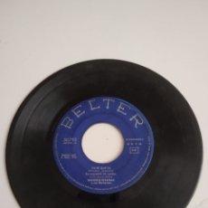 Discos de vinilo: BAL-3 DISCO CHICO 7 PULGADAS SIN CARATULA BELTER YO SE QUE TU. Lote 210550762