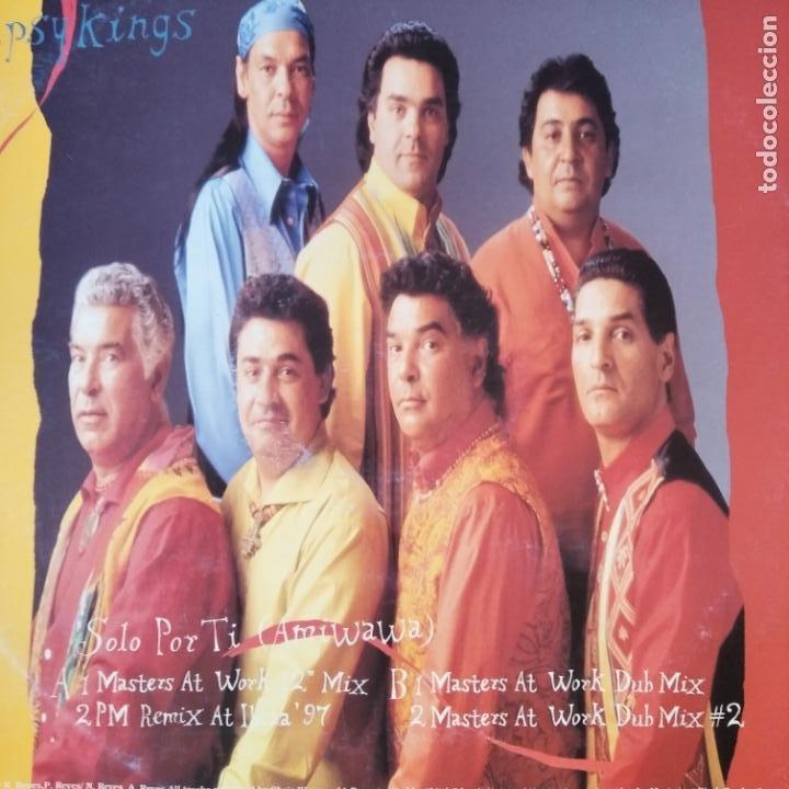 Discos de vinilo: GYPSY KINGS - SOLO POR TI (AMIWAWA) - Foto 2 - 210551556