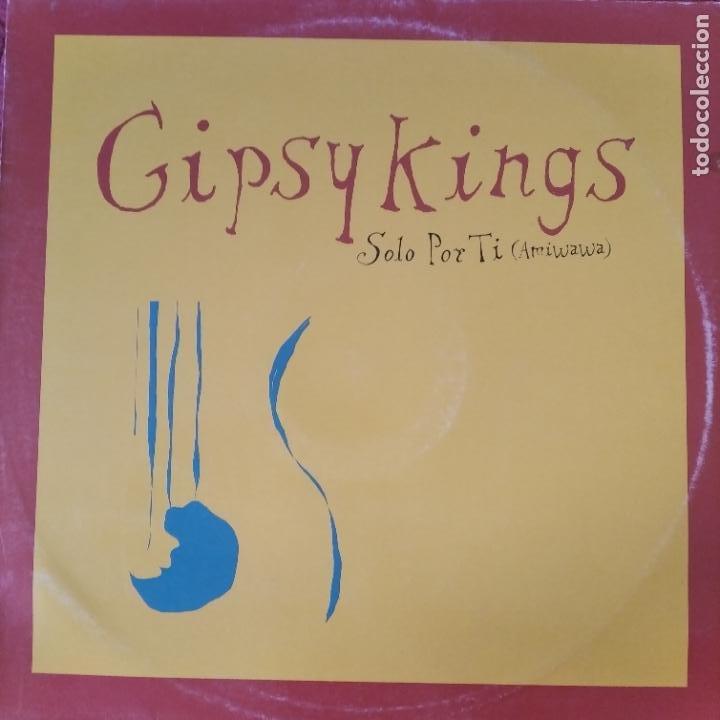 GYPSY KINGS - SOLO POR TI (AMIWAWA) (Música - Discos de Vinilo - Maxi Singles - Flamenco, Canción española y Cuplé)