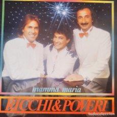 Discos de vinilo: RICCHI & POVERI, MAMMA MARIA - LP. Lote 210551632
