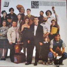 Discos de vinilo: EROS RAMAZZOTTI, EN TODOS LOS SENTIDOS - LP. Lote 210551722