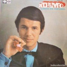 Discos de vinilo: ADAMO, CANTA EN ESPAÑOL - LP. Lote 210551835