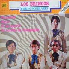 Discos de vinilo: LOS BRINCOS LP SELLO CAUDAL AÑO 1980. Lote 210552633