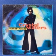 Discos de vinilo: LP CRYSTAL WATERS - MAKIN´HAPPY - ESPAÑA - AÑO 1991. Lote 210553362