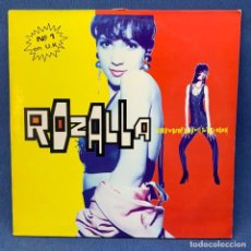 Discos de vinilo: MAXI SINGLE ROZALLA - EVERYBODY´S FREE ( TO FEEL GOOD ) - ESPAÑA - AÑO 1991. Lote 210554241