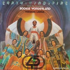 Discos de vinilo: EARTH, WIND & FIRE - BOOGIE WONDERLAND - MAXISINGLE -. Lote 210554306