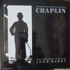 Discos de vinilo: JOHN BARRY MÚSICA DE LA PELÍCULA CHAPLIN MAXI-SINGLE SELLO EPIC AÑO 1903.. Lote 210554338
