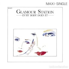Discos de vinilo: GLAMOUR STATION - EV'RY BODY DOES IT - MAXI-SINGLE GERMANY 1985 (ITALO-DISCO). Lote 210555071