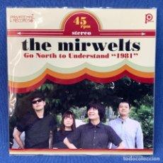 Discos de vinilo: SINGLE THE MIRWELTS - GO NORTH TO UNDERSTAND 1981 - INCLUYE CD R - JAPÓN - AÑO 2011. Lote 210559076